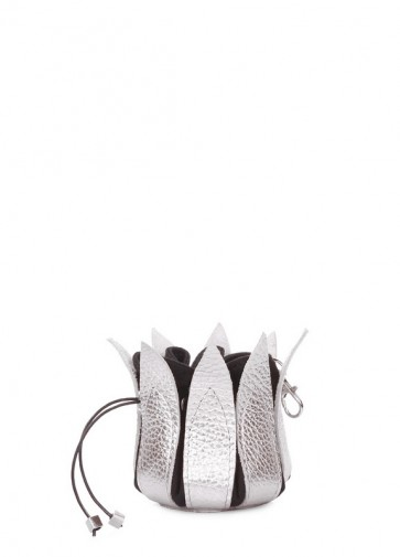 фото ключница POOLPARTY keychain-flower-silver купить