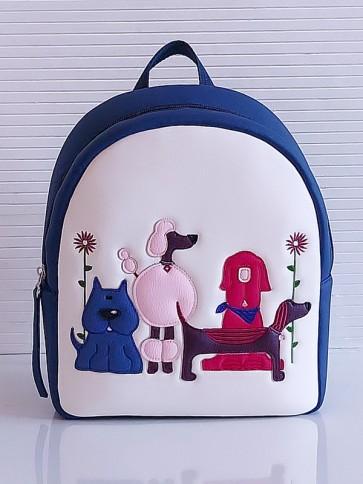 фото детский рюкзак Alba Soboni KH0071 белый-синий купить