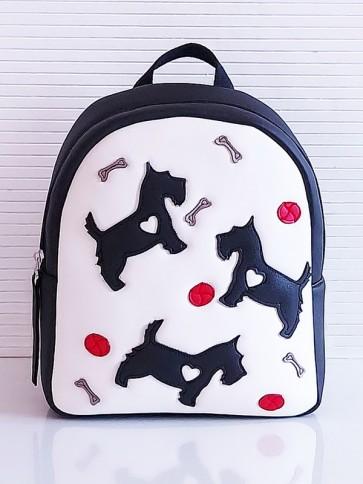 фото детский рюкзак Alba Soboni KH0072 белый-черный купить