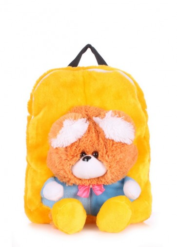 фото рюкзак POOLPARTY kiddy-backpack-bear-sunny купить