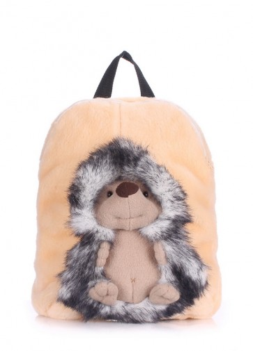 фото рюкзак POOLPARTY kiddy-backpack-hedge-grey купить