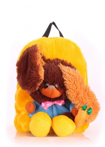 фото рюкзак POOLPARTY kiddy-backpack-rabbit-sunny купить