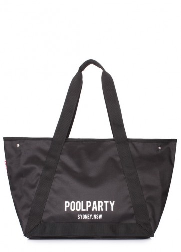 фото сумка POOLPARTY laguna-oxford-black купить