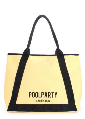 фото сумка POOLPARTY laguna-oxford-yellow купить