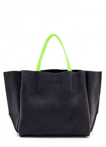 фото сумка POOLPARTY limited-soho-black-green купить