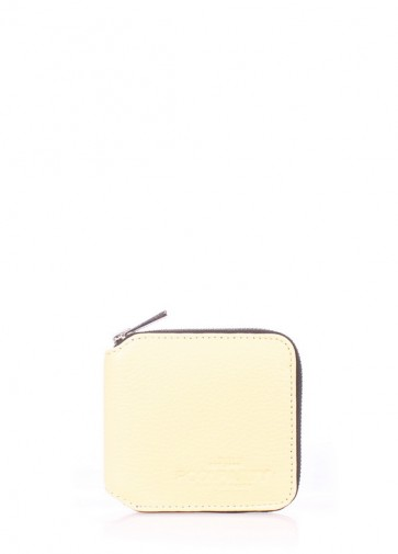 фото кошелек POOLPARTY miniwallet-yellow купить