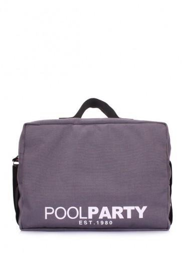 фото сумка POOLPARTY original-grey купить