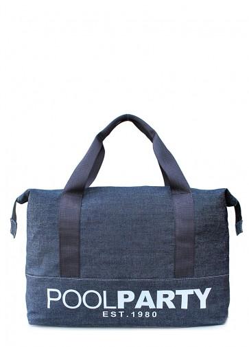 фото сумка POOLPARTY pool12-jeans купить