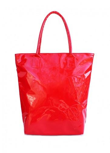 фото сумка POOLPARTY pool86-laque-red купить