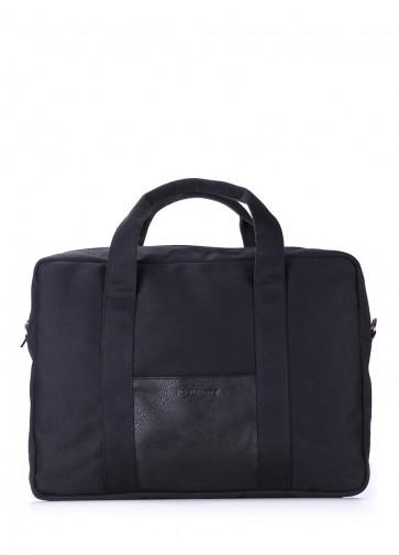фото сумка POOLPARTY poolparty-college-black купить