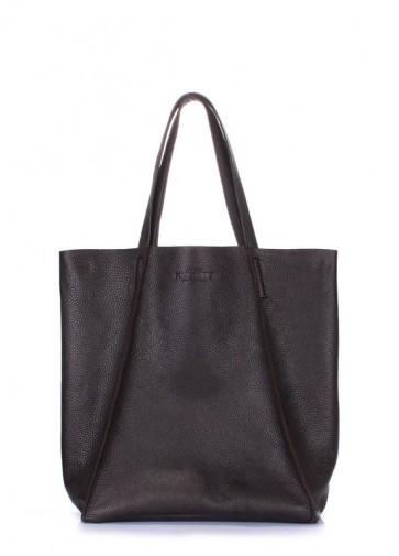 фото сумка POOLPARTY poolparty-edge-brown купить
