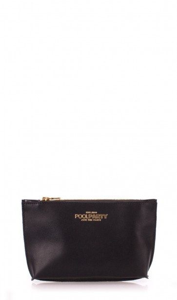 фото косметичка POOLPARTY pouch-black купить