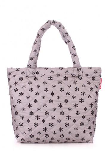 фото сумка POOLPARTY pp4-snow-grey купить
