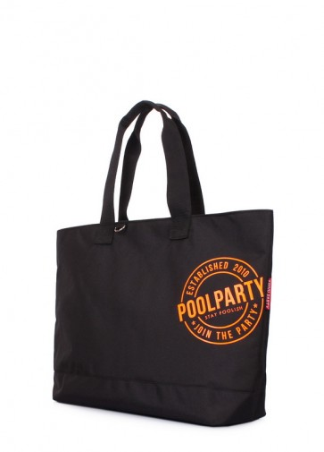 фото сумка POOLPARTY riot-black купить