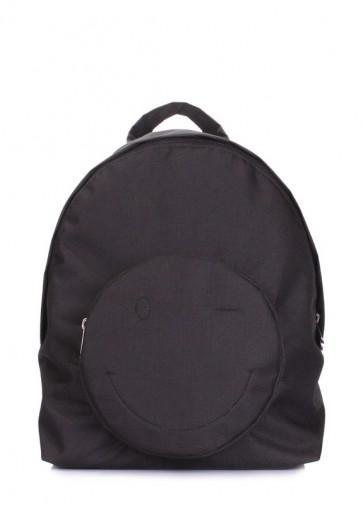 фото рюкзак POOLPARTY smile-backpack-black купить