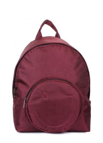 фото рюкзак POOLPARTY smile-backpack-marsala купить