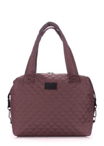 фото сумка POOLPARTY tokyo-brown купить