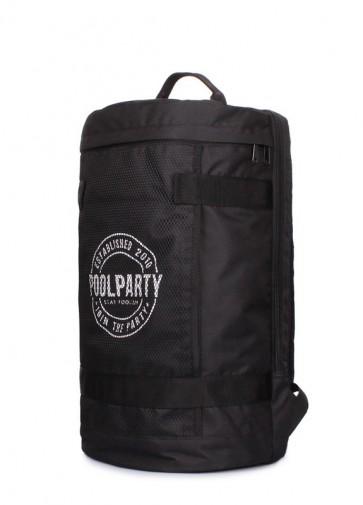 фото рюкзак POOLPARTY tracker-black купить