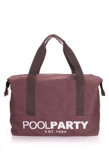 фото сумка POOLPARTY universal-brown купить