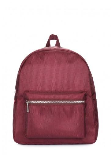 фото рюкзак POOLPARTY xs-oxford-marsala купить