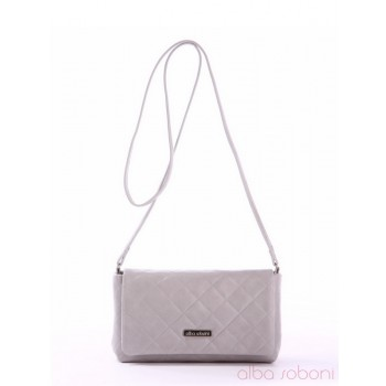 фото сумка Alba Soboni 161077 серый купить