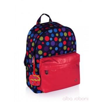 фото рюкзак Alba Soboni 161239 сине-малиновый купить