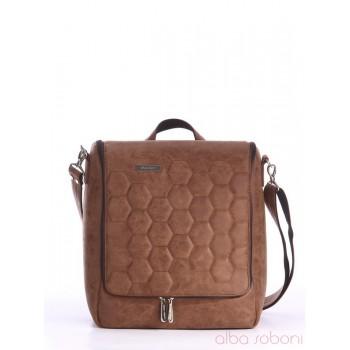 фото сумка Alba Soboni 162822 коричневый купить