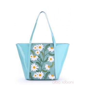 фото сумка Alba Soboni 170034 голубой купить