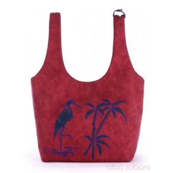 фото сумка Alba Soboni 170222 бордо купить