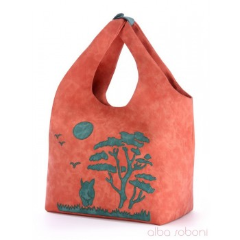 фото сумка Alba Soboni 170224 персиковый купить