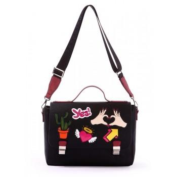 фото сумка Alba Soboni 171336 черный купить