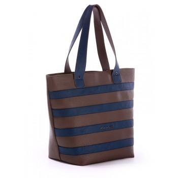 фото сумка Alba Soboni 171472 коричневый-синий купить