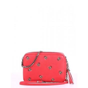 фото сумка Alba Soboni 180182 красный алый купить