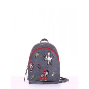 фото рюкзак Alba Soboni 180214 серый купить