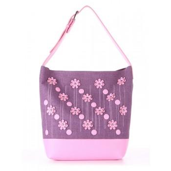 фото сумка Alba Soboni 180234 лиловая дымка-розовый купить