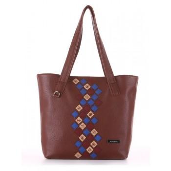 фото сумка Alba Soboni 181417 коричневый купить