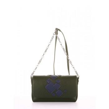 фото сумка Alba Soboni 181423 темно-зеленый купить