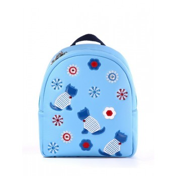 фото детский рюкзак Alba Soboni 1835 голубой купить