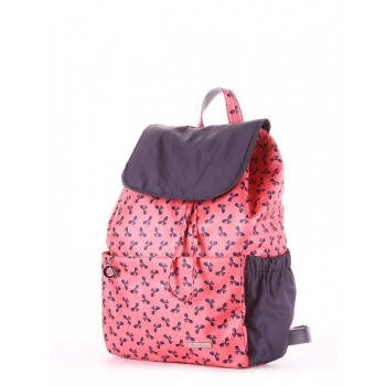фото рюкзак Alba Soboni 183815 коралловый/серый купить