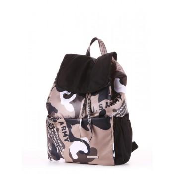фото рюкзак Alba Soboni 183816 милитари/черный купить