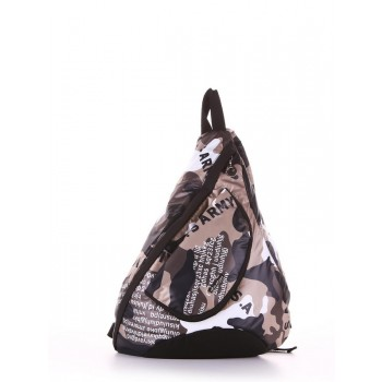 фото рюкзак Alba Soboni 183826 милитари/черный купить