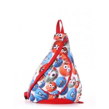 фото рюкзак Alba Soboni 183827 веселые пушистики/красный купить