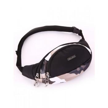 фото сумка Alba Soboni 183876 милитари/черный купить