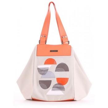 фото сумка Alba Soboni 190045 светло-серый купить