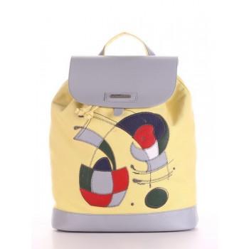 фото рюкзак Alba Soboni 190064 желтый купить