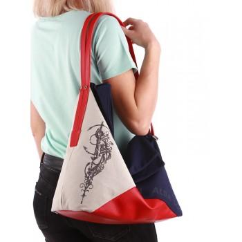 фото сумка Alba Soboni 190373 сине-красный купить