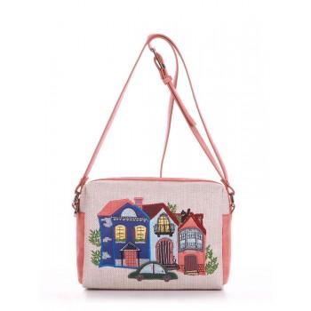 фото сумка Alba Soboni 190423 бежевый-персиковый купить