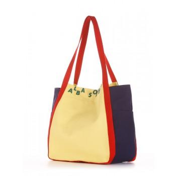 фото сумка Alba Soboni 190433 желтый-синий купить