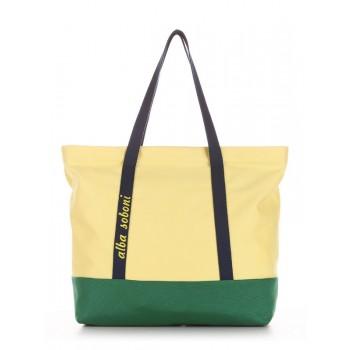 фото сумка Alba Soboni 190441 желтый-зеленый купить