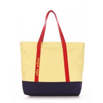 фото сумка Alba Soboni 190443 желтый-синий купить
